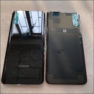 Оригинальный новый запасной аккумулятор для Huawei Honor 9X, задняя крышка, 3D стеклянный корпус для телефона, чехол для аккумулятора, бесплатная д...