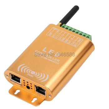 Wifi Music SPI LED Controller 2048 Pixel LED Digital Addressable Controller DC12V 24V for WS2812 WS2811 WS2813 Pixel LED Strip