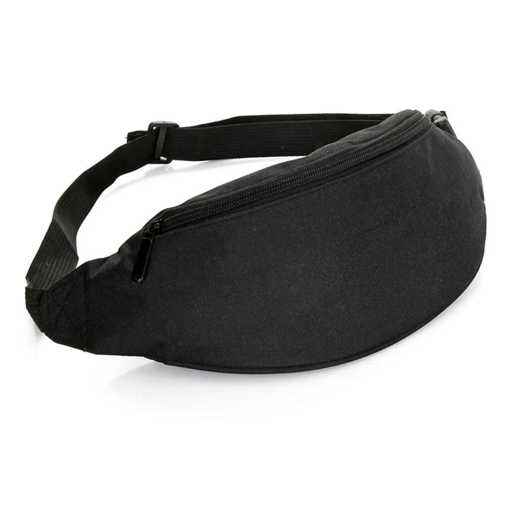2018 Fanny Pack For Women Men Waist Bag Colorful Unisex Waistbag Belt Bag Zipper Pouch Packs 110cm Belt Length Factory OEM