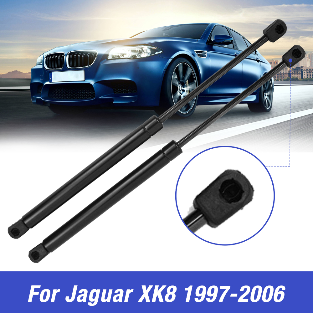 2pcs HJA2500AB Gas Charged Lift Supports For 97 to 06 Jaguar XK8 XKR Front Hood