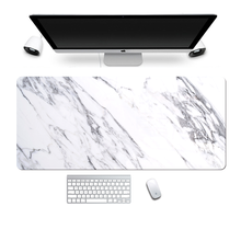 Большой коврик для мыши большой компьютерный с мраморным рисунком