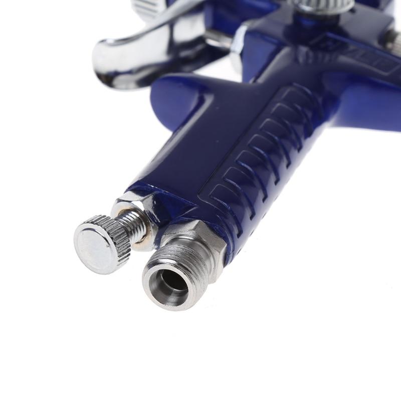1mm Mini HVLP Air Paint Spray Gun Auto Car Detail Touch Up Sprayer Gravity Repair 03KB|Paint Guns| |  - title=