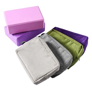Fitness new Block Cover Lightweight Zipper Polyester Brick Storage Bag Yoga Props Training Accessories