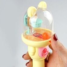Мини-машина для стрельбы Slam Dunk игрушка с музыкальным светом дети палец катапульта ручная игрушка «Данк» декомпрессия для взрослых игрушка