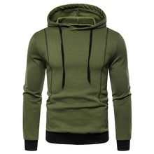 2019 Autumn And Winter New Fashion Hooded Clothing Street Mens Large Size Warm Jacket Brand Sweatshirt