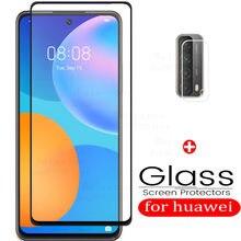 Szkło ochronne na p smart 2021 ochraniacz na aparat do huawei p smart 2021 szkło ochronne tremp film hauwei psmart smartp glas