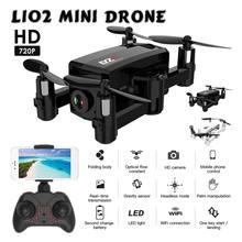 2019Mini Foldable RC Drone HD Camera Quadcopter L102 WiFi FPV Smart Following Folding Pocket Camera Drones RC Drone Battery dron