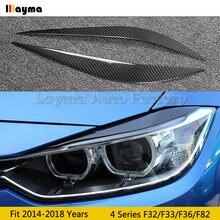 Автомобильные брови из углеродного волокна для bmw 4 серии Купе