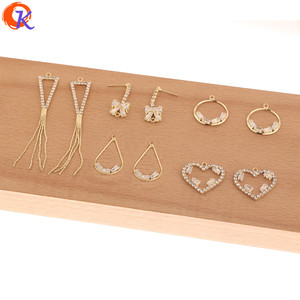 Image 2 - Cordial Design 50Pcs Jewelry Accessories/Hand Made/Rhinestone Claw Chain/Connectors For Earrings/DIY Charms/Earring Findings