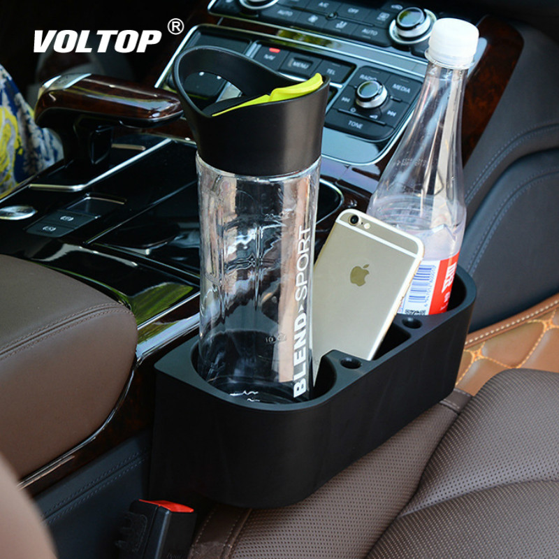 Car Cup Holder Auto Interior Organizer Portable Multifunction Vehicle Seat Gap Cup Bottle Phone Drink Holder Stand Boxes