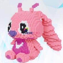Block Building-Bricks Stitch Education-Toys 5000pcs 8014-America 27cm Assemble Connecting