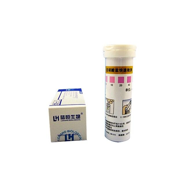 Test de qualité de leau déquipement de laboratoire de prix bas 30 bandes/papier dessai de Nitrite de boîte pour des échantillons