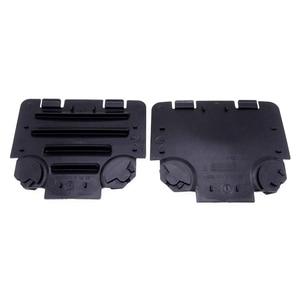 Image 4 - 1 Pair Black Left/Right Car Front Fender Liner Access Cover Trim Auto Decoration Accessories For BMW E82 E88 E90 E91 135i 325i