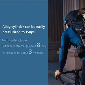 Image 4 - شاومي Mijia الكهربائية نافخة مضخة الذكية الرقمية ضغط الإطارات كشف سيارة ضاغط الهواء ل سكوتر دراجة نارية سيارة