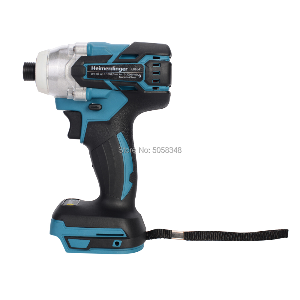 Image 4 - Electric Rechargeable cordless brushless impact driver drill without battery and accessories-in Electric Drills from Tools on