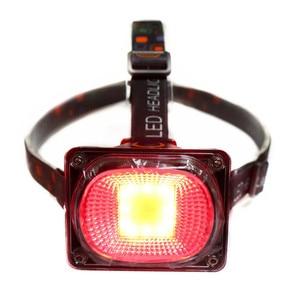 Image 2 - COB Làm Đèn Pha LED Cắm Trại Đèn Pin Đèn Sạc USB Đèn Pha Đỏ Xanh Trắng Chế Độ Ánh Sáng Use18650 Pin Chiếu Sáng Đèn Pin