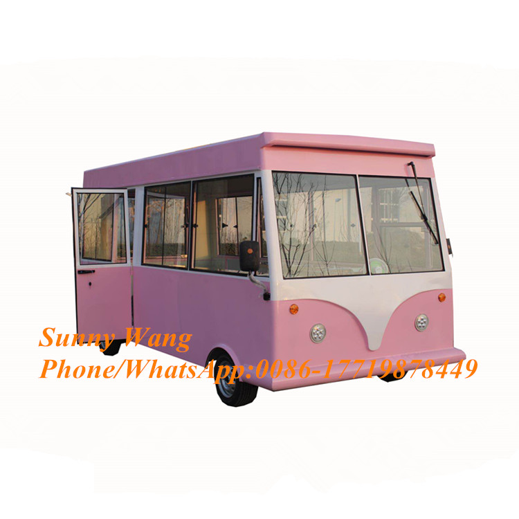 2020 new arrival Outdoor Mobile Food Trailer/ Street electric Food Cart/ China Factory Mobile Food Truck vehicle For Sale