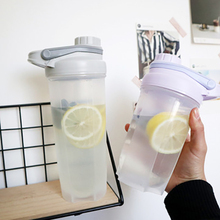 500ML/700ML Sport Shaker Bottle Whey Protein Powder Mixing Bottle Outdoor Portable Plastic Fitness Gym Drink Bottle stainless steel cup vacuum mixer outdoor drink 26oz kettle detachable whey protein powder outdoor portable sports shake bottle