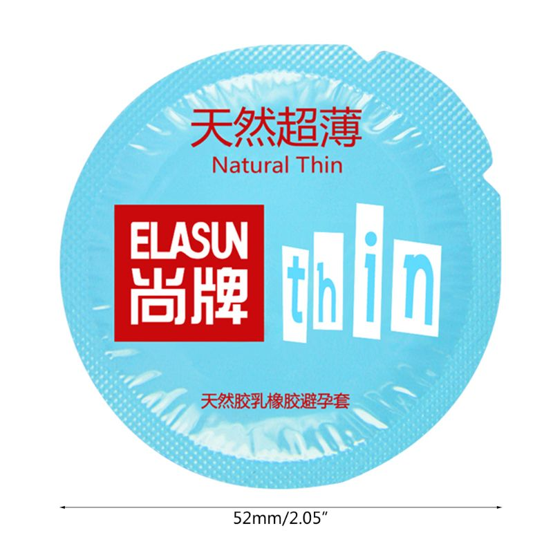 20 Pcs Adult Sex Products Toys Natural Thin Condoms Latex Contraception Condom for Men in Condoms from Beauty Health