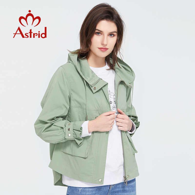 Astrid 2020 Hàng Mới Về Mùa Xuân Trẻ Trung Thời Trang Ngắn Áo Choàng Đi Mưa Nữ Cao Cấp Đô Thị Nữ Khoác Ngoài Xu Hướng Áo Khoác ZS-7086