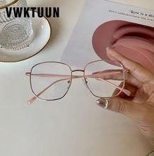 Vwktuun óculos redondos quadro criança óculos de olho quadro meninos meninas do vintage óculos ópticos quadro anti azul luz óculos computador