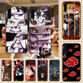 Чехол для телефона AKATSUKI N-Narutos с аниме для Samsung Galaxy A 3 5 7 8 10 20 21 30 40 50 51 70 71 E S 2016 2018 4G, черный трендовый бампер