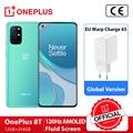 Globale Version OnePlus 8T 8 T OnePlus Official Store Snapdragon 865 5G Smartphone 12GB 256GB 120Hz Flüssigkeit Display 48MP Quad Kameras 65W Warp Ladung