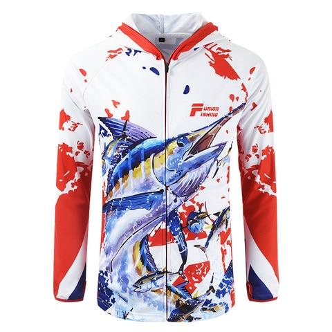 roupas de pesca