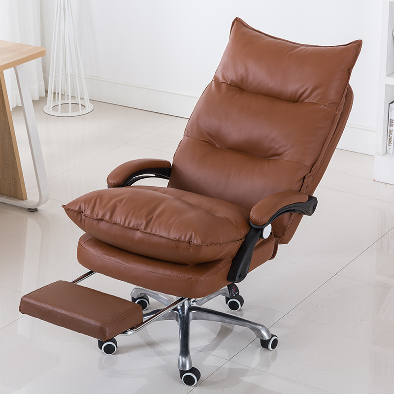 Yogurt Boss Chair To Work In An Office Chair Computer Chair Rotating Lift Swivel Chair Ergonomic Leather Chair Rc -801