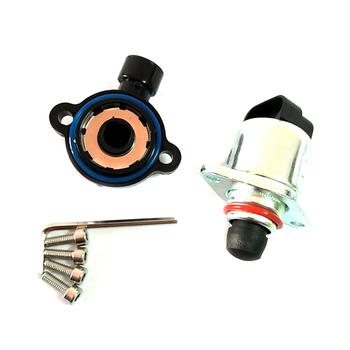 Czujnik położenia przepustnicy zestaw TPS i IAC dla korpusów przepustnicy napędzanych kablem silnika LS (4 8 5 3 i 6 0) tanie i dobre opinie FY-UU Throttle Position Idle Air Control Throttle Body Sensors TPS IAC JQMCGQ
