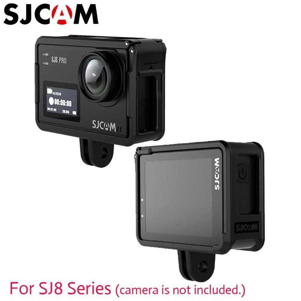 Sjcam sj8 caso protetor sj8 pro quadro titular acessórios originais para sj8 série sj krypton 4 k câmera de ação esportes