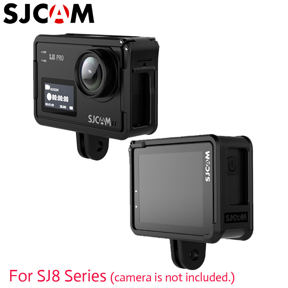 SJCAM SJ8 Protective Case SJ8 PRO Frame Holder Original Accessories For SJ8 Series SJ KRYPTON 4K Sports Action Camera