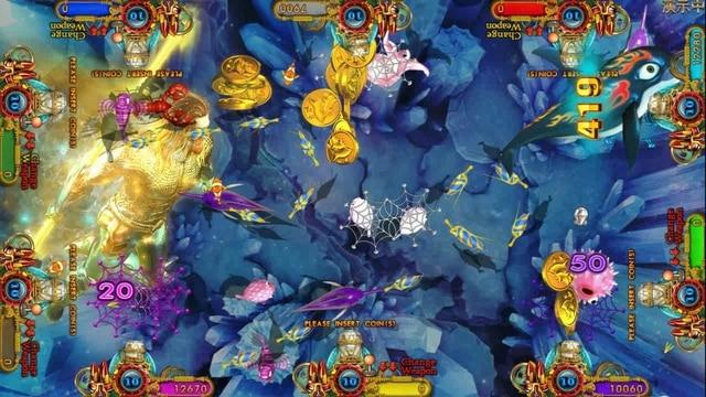 USA High Profit Hot Selling Fish Game Table Gambling Machines For Sale Ocean King 3 Plus Aquaman Realm 4