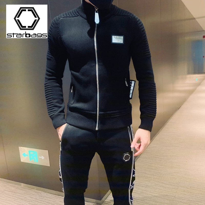 Starbags PP Sweater Suit Korean Version Casual Suit Two-piece Sportswear Fashion