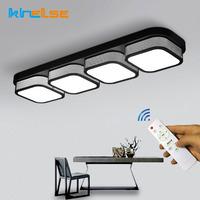 Modern Simple LED Ceiling Lights Remote Control Dimmable Living Room Kitchen Bathroom Plafon Bedroom Dining Lamps Home Decor