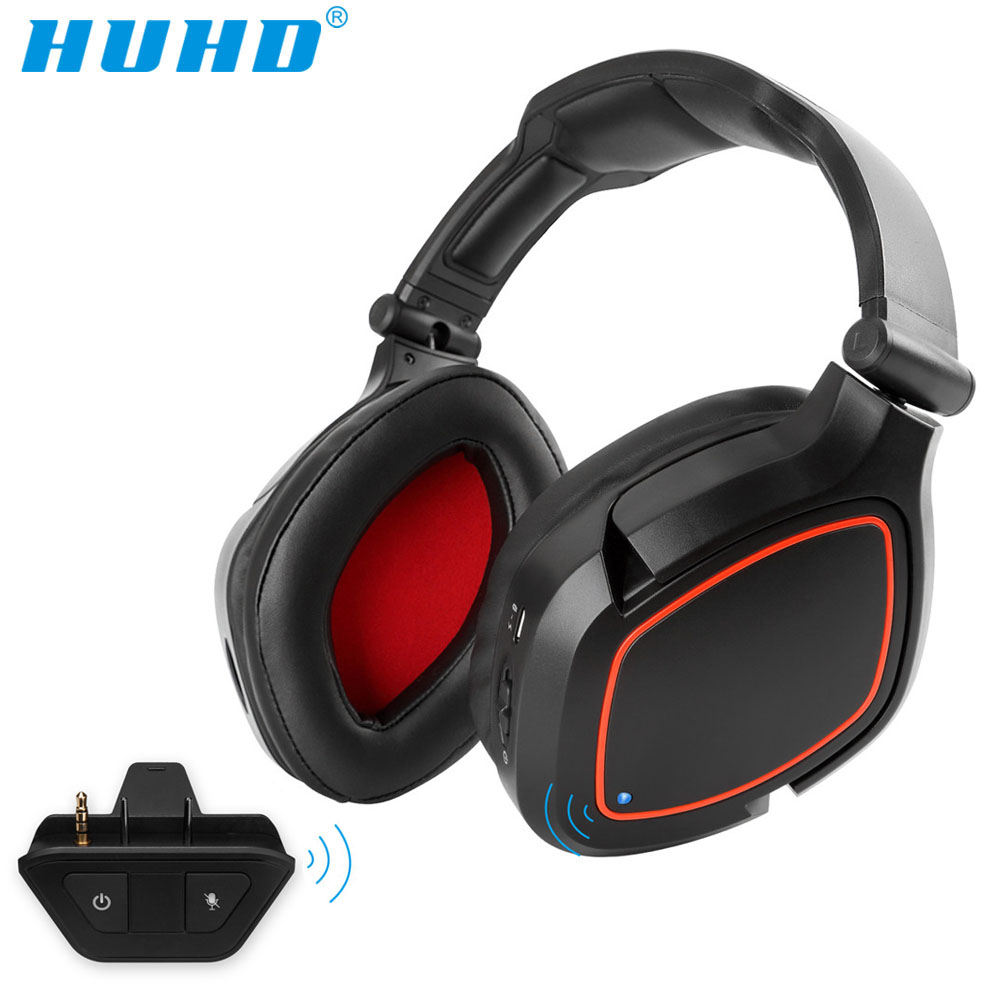Huhd K8 Ha5 Wireless 2 4g Stereo Gaming Headset For Xbox One With Adapter 7 1 Surround Sound True Wireless Xbox Headphones Phone Earphones Headphones Aliexpress