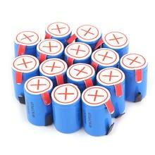 20 pçs nova sc bateria recarregável para dewalt para makita para bosch para hitachi 4/5subc batterie nicd acumulador 2800mah 1.2v