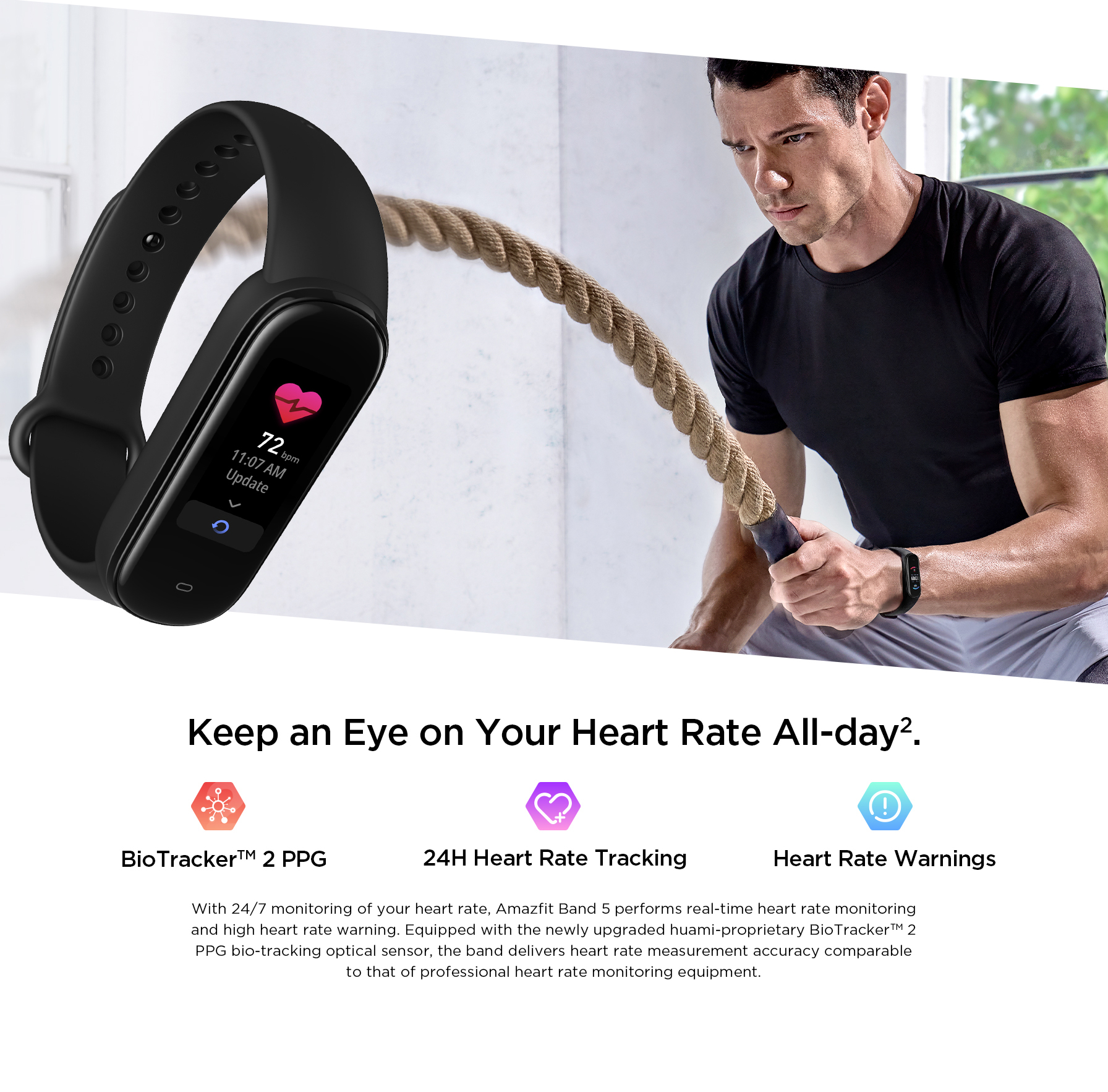 Amazfit Band 5 Smartwatch 8