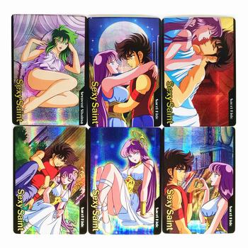9 sztuk zestaw Saint Seiya fajne zabawki Hobby Hobby kolekcje kolekcja gier Anime Cards tanie i dobre opinie TOLOLO C994 8 ~ 13 Lat 14 lat i więcej Dorośli Chiny certyfikat (3C) Fantasy i sci-fi