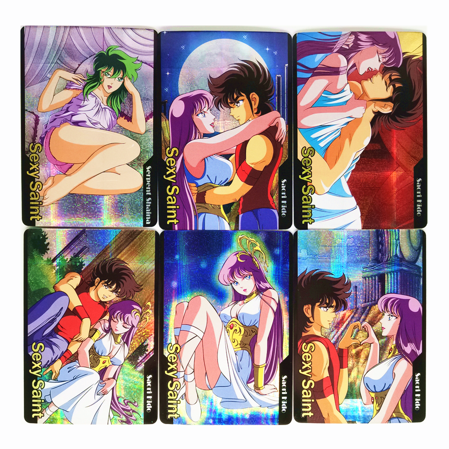9pcs/set Saint Seiya Fun Toys Hobbies Hobby Collectibles Game Collection Anime Cards