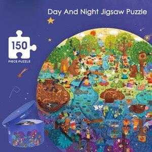 Image 2 - Mideerパズル150個パズルおもちゃ知育玩具ハンド塗装ジグソーパズルボードスタイルパズルボックスセット子供のためのギフト3 6Y