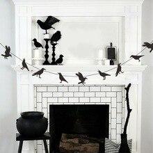 Household Crow Hanging Decoration Halloween Crow Decoration