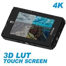 Fotga dp500iiis a70tls 7 Polegada tela sensível ao toque fhd ips vídeo em câmera monitor de campo, 3d lut, 3g sdi/4 k hdmi entrada/saída, 1920x1080