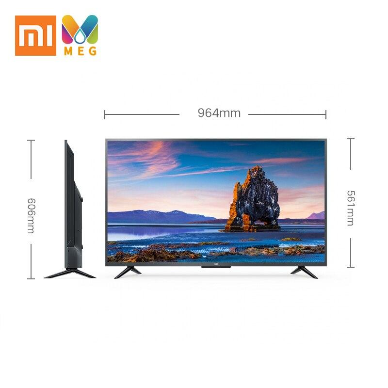 La televisión xiaomi mi TV 4S 43 android Smart TV LED 4K de 1G + 8G Custo mi zed idioma Ruso | soporte de pared de regalo - 5