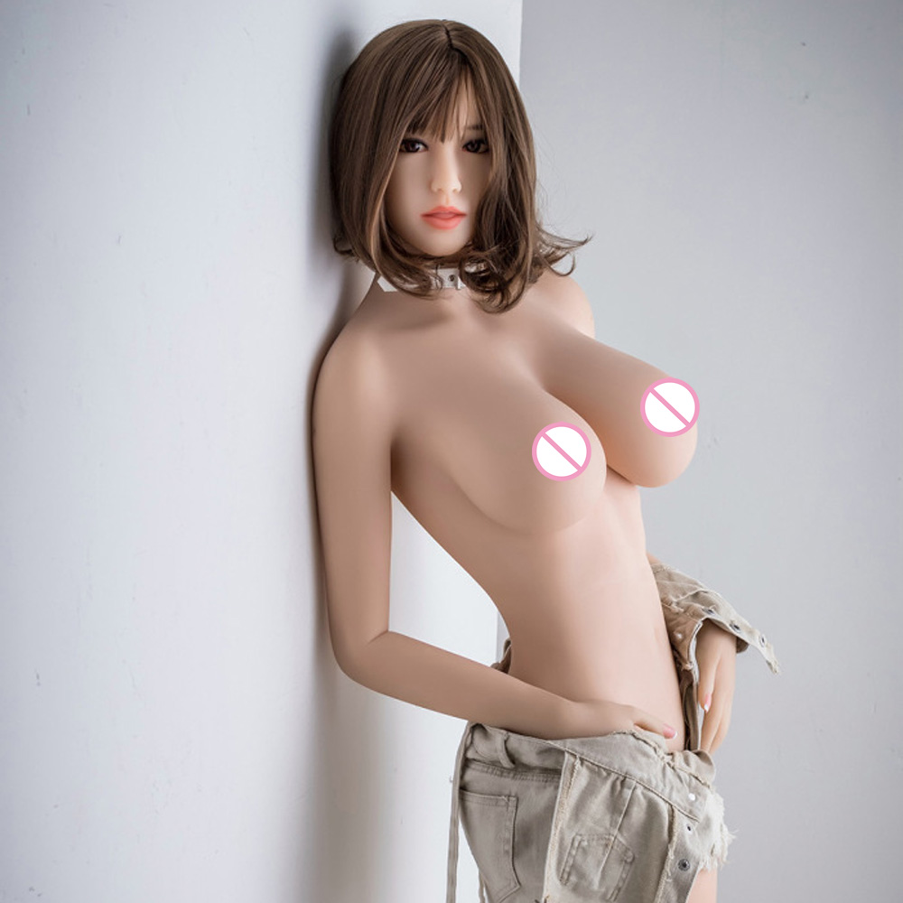 <font><b>158cm</b></font> Real Silicone <font><b>Sex</b></font> <font><b>Dolls</b></font> Robot Anime Full Oral Love <font><b>Doll</b></font> Realistic Adult for Men Toys <font><b>Big</b></font> <font><b>Breast</b></font> Sexy image