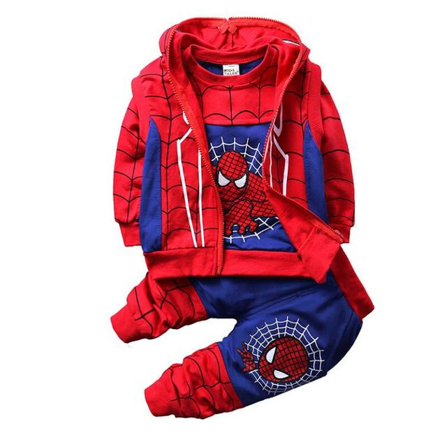Baby Spiderman Clothing Sets -Costumes Kids Clothes 3pcs  3
