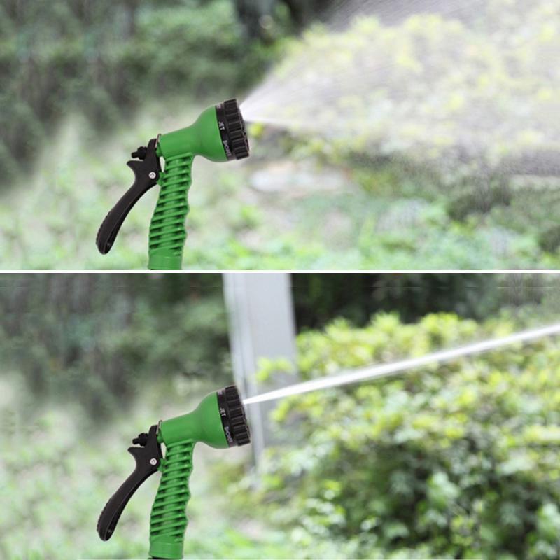 Hose Gun Garden Adjustable 7 Patterns Sprinkler Nozzles Water Gun Nozzle For Car Washing Water Hose Sprayer Head Portable Home