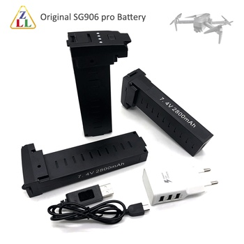 AliExpress - 3% Off: Original SG906 pro Battery 7.4V 2800mah LiPo Battery Spare Part Accessories For SG906 Pro GPS 4K RC DRONE Parts
