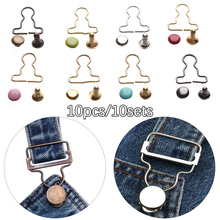 10sets Mini Doll Belt Buttons Doll Clothes DIY Metal Buckle Fit for 1/6 Dolls Girls Doll Buckles Trousers Bags Accessories-in Dolls Accessories from Toys & Hobbies on AliExpress