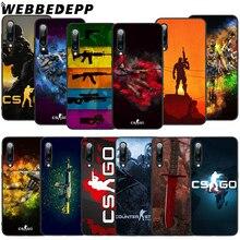 WEBBEDEPP CS GO Game Soft TPU Case for Xiaomi Mi 6 8 A2 Lite 6 9 A1 Mix 2s Max 3 F1 9T A3 Pro CC9E Cover webbedepp yin yang koi fish soft tpu case for xiaomi mi 6 8 a2 lite 6 9 a1 mix 2s max 3 f1 9t a3 pro cc9e cover